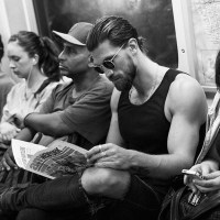 THE SWEDISH MODEL HENRIK FALLENIUS AND ROUTINE IN THE BIG APPLE FOR STARK